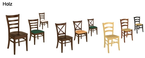 Gastro Holzstühle
