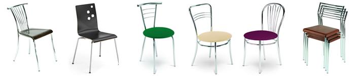 Metall  Gastronomie Stühle