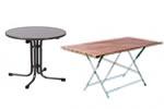 outdoortische gastronomie tische. Black Bedroom Furniture Sets. Home Design Ideas