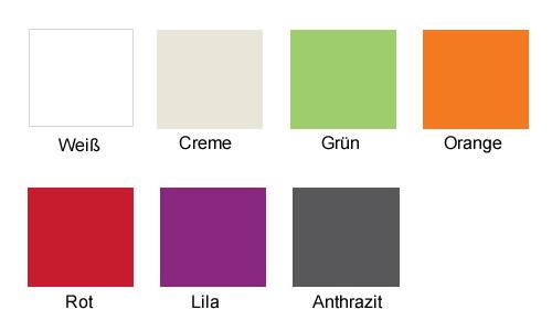 Kunststoff Stühle - Farben