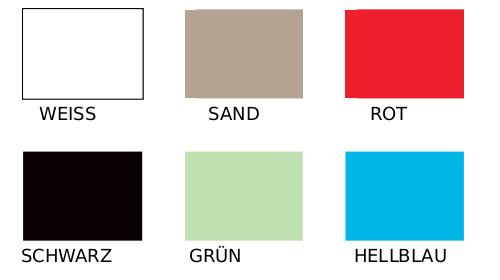 Kunststofffarben