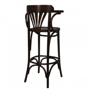 holz barhocker mit polster eiche massiv barst hle foly. Black Bedroom Furniture Sets. Home Design Ideas