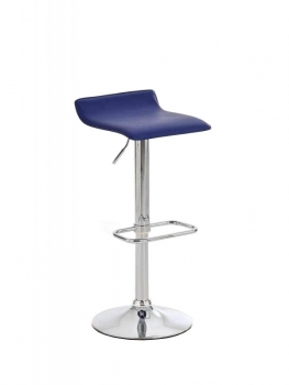 Design Barhocker blau