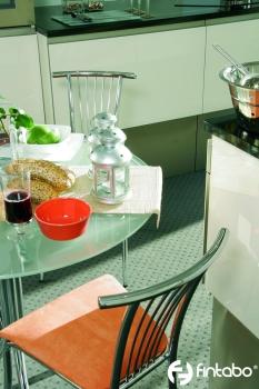 bistrost hle mit metallgestell und polstersitz gastro. Black Bedroom Furniture Sets. Home Design Ideas