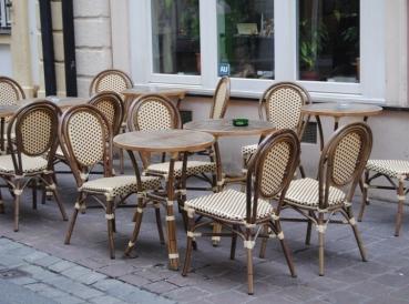 gastronomie st hle au enbereich bistrost hle outdoor. Black Bedroom Furniture Sets. Home Design Ideas