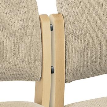 holzst hle mit polster holz besucherst hle von stuhlux. Black Bedroom Furniture Sets. Home Design Ideas