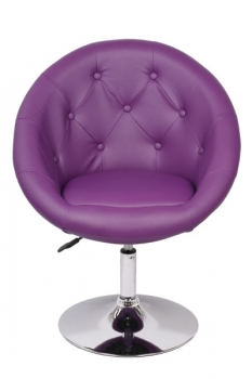 Lounge Sessel lila
