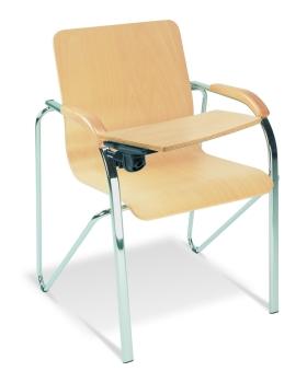 holzschalenst hle mit armlehne g nstige besucherst hle. Black Bedroom Furniture Sets. Home Design Ideas
