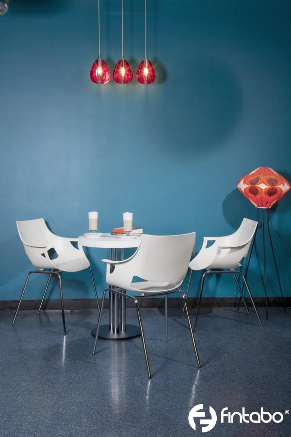 besucherst hle kunststoff mit armlehne stapelbar. Black Bedroom Furniture Sets. Home Design Ideas