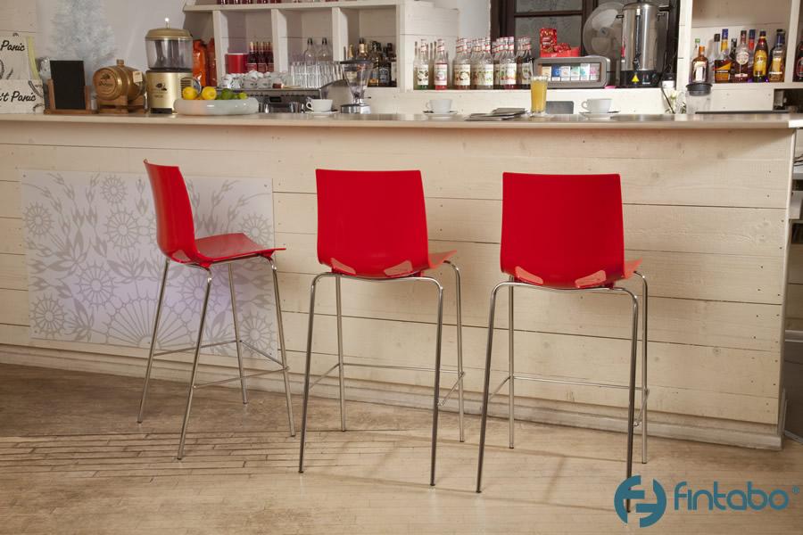 Barhocker metall mit kunststoff sitzschale online kaufen for Barhocker metallgestell