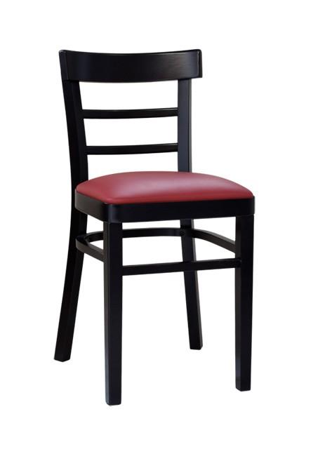 restaurantstuhl mit sitzpolster salerno p stuhlux. Black Bedroom Furniture Sets. Home Design Ideas