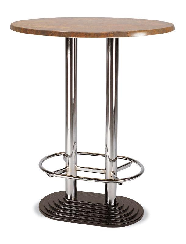 stehtische mit fu ring u 2 s ulen jetzt g nstig kaufen. Black Bedroom Furniture Sets. Home Design Ideas