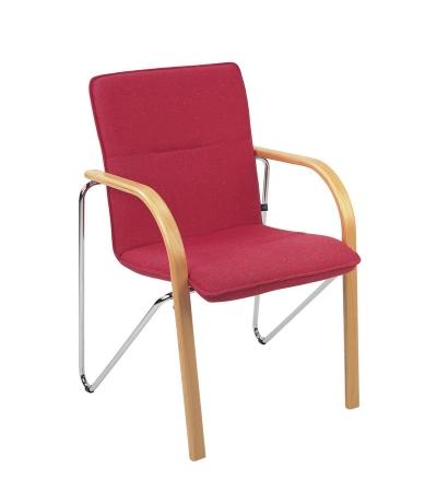konferenzstuhl besucherstuhl mit armlehne rufin p. Black Bedroom Furniture Sets. Home Design Ideas