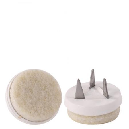 Filz bodengleiter f r holzst hle und barhocker for Barhocker filz