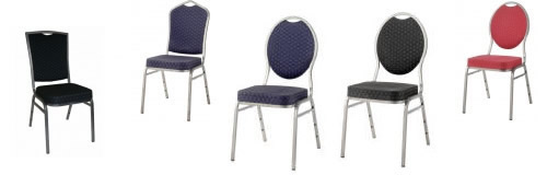 Stapelbare Bankettstühle - Stapelstühle
